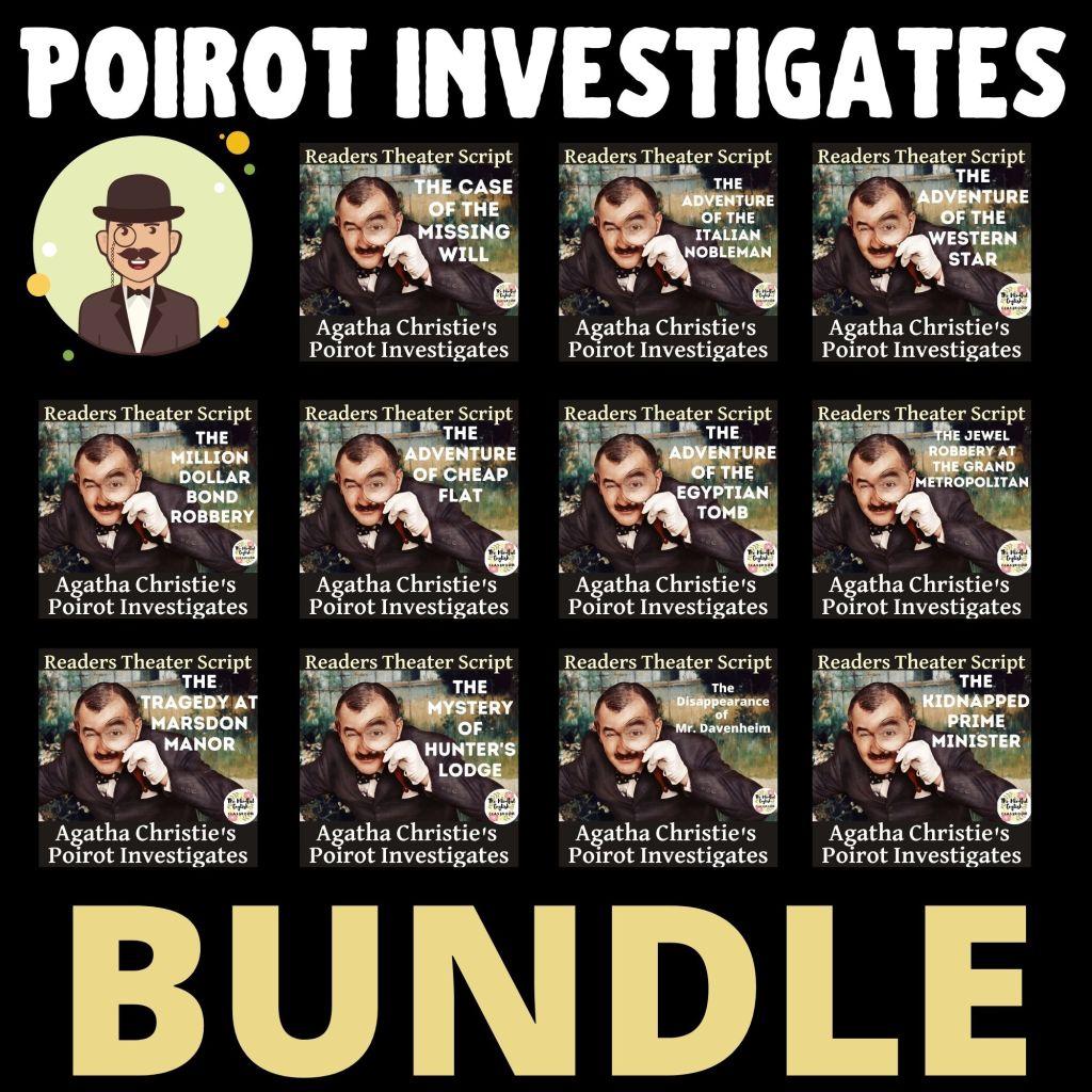 Short Story Lesson, Agatha Christie, Mystery, Poirot, High School, English, ELA, Google Classroom, Distance Learning